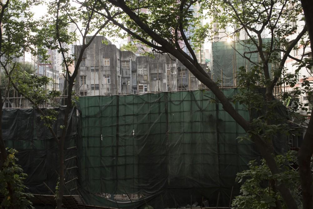 嘉咸街的重建計劃