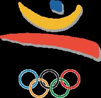 以上2個創作為何會那麼似是二次創1992年奧運的logo嗎?