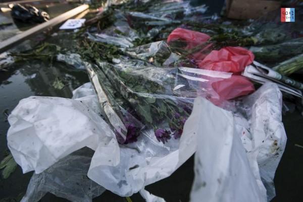 將送去堆填區的花