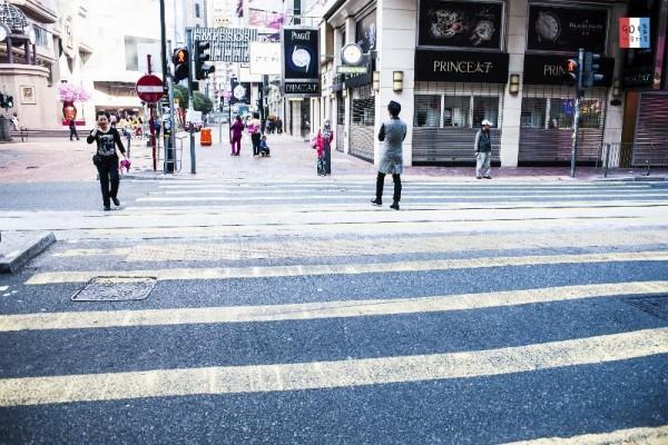平時在這裡經常太迫而被迫出馬路,現在可以舒服地過馬路